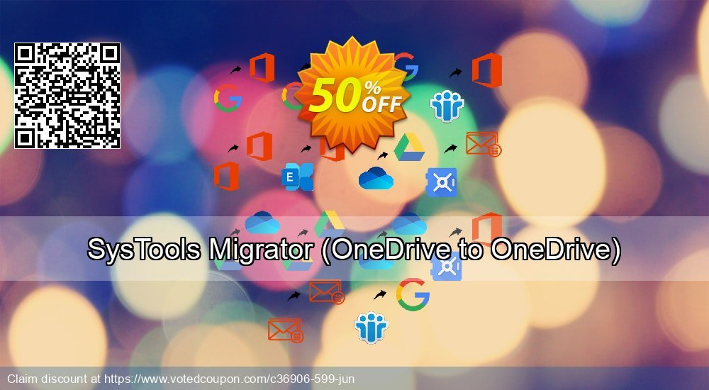 Get 52% OFF SysTools Migrator, OneDrive to OneDrive Coupon