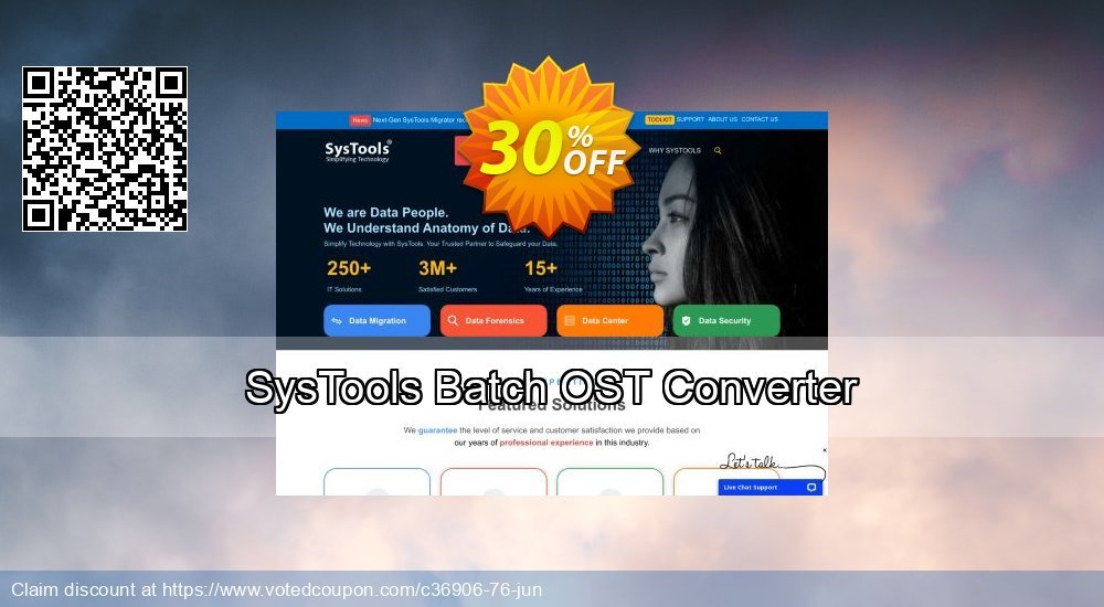 Get 20% OFF SysTools Batch OST Converter Coupon