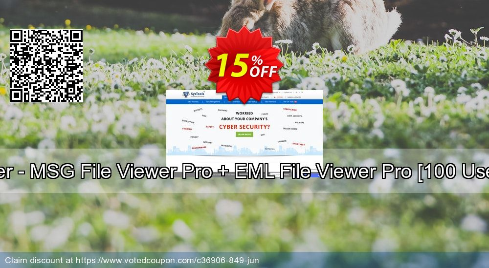 Get 15% OFF Bundle Offer - MSG File Viewer Pro + EML File Viewer Pro [100 Users License] discounts