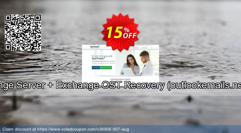 Get 15% OFF Bundle Offer - Exchange Server + Exchange OST Recovery (outlookemails.net) - Academic License sales