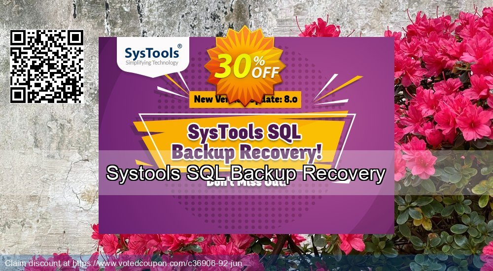 Get 30% OFF Systools SQL Backup Recovery Coupon