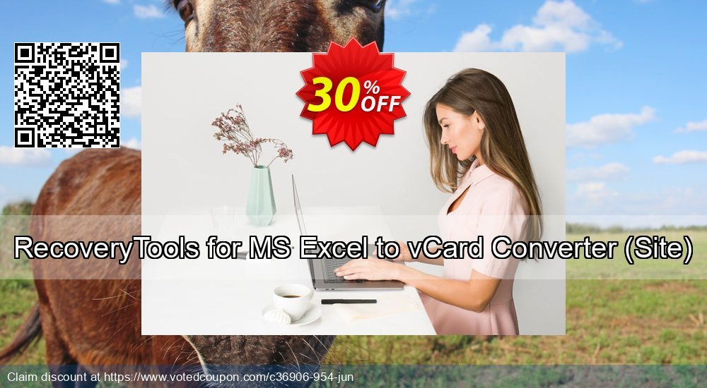 68% OFF RecoveryTools for MS Excel to vCard Converter, Site Coupon code on  Back to School discount, September 2019