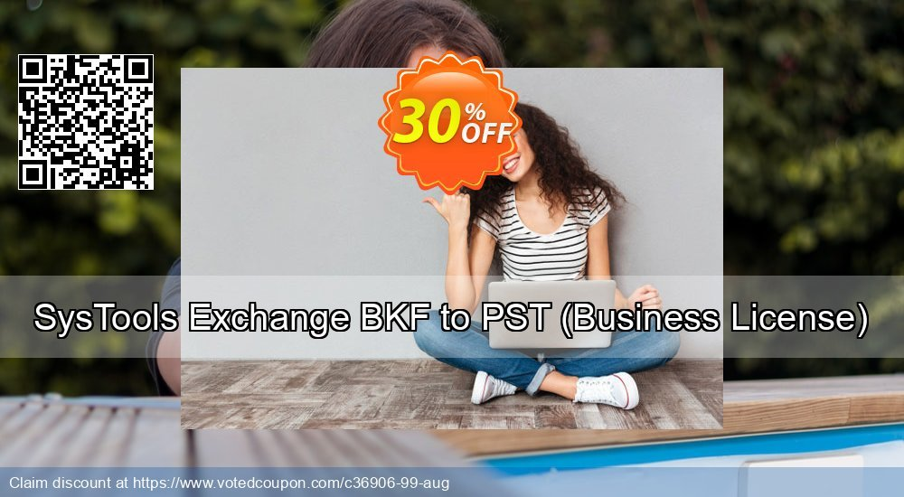 Get 15% OFF Exchange BKF to PST - Business License offering sales
