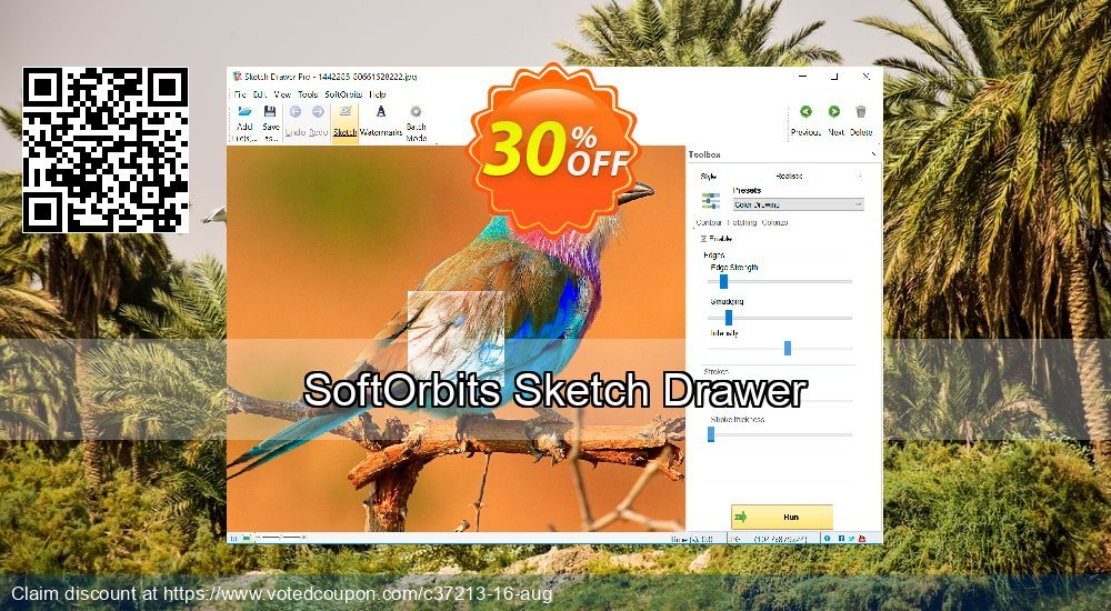 Get 30% OFF Sketch Drawer offer