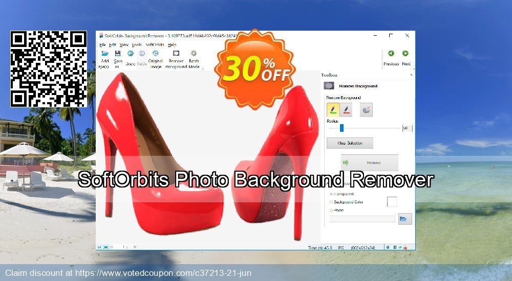 Get 30% OFF Photo Background Remover offering sales