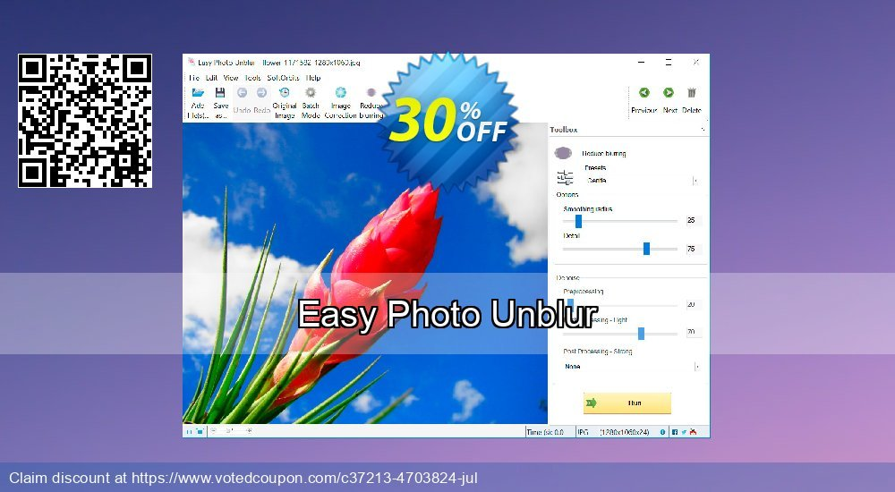 Get 30% OFF Easy Photo Unblur offering sales