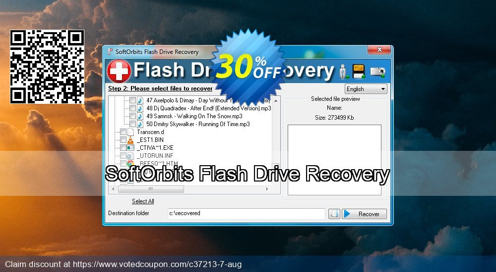 Get 30% OFF SoftOrbits Flash Drive Recovery Coupon