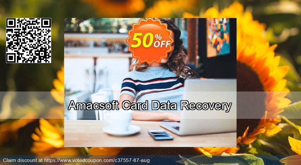 Get 53% OFF Amacsoft Card Data Recovery Coupon