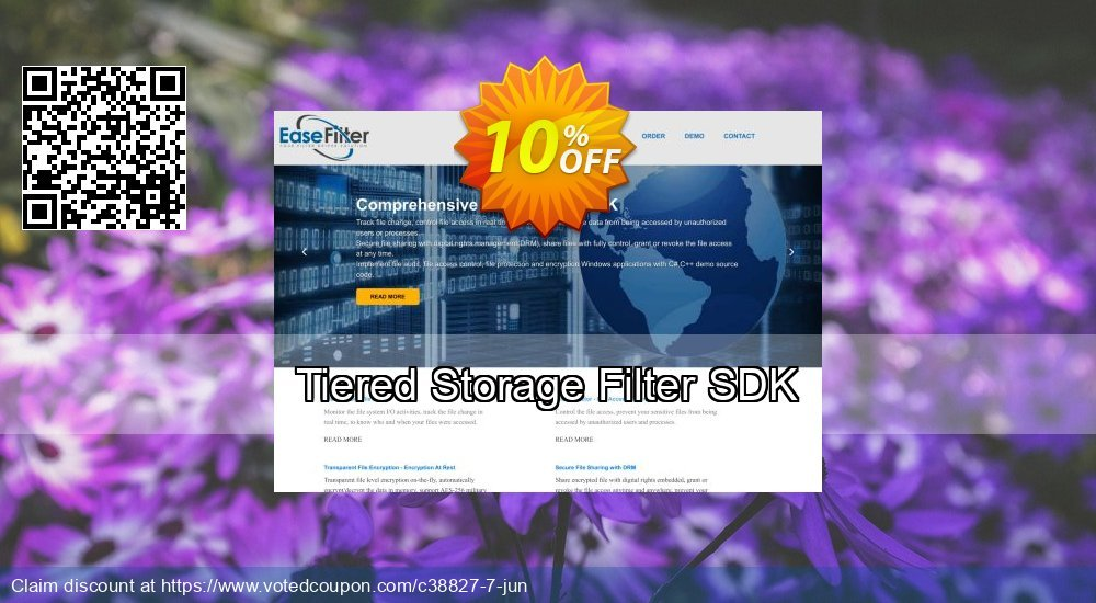 Get 10% OFF Tiered Storage Filter SDK promotions