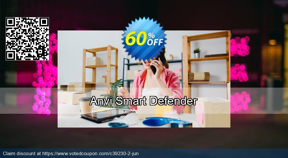 Get 60% OFF Anvi Smart Defender offering sales