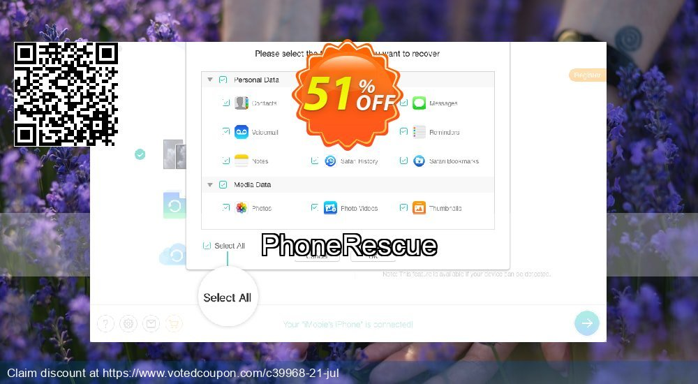 Get 31% OFF PhoneRescue Coupon