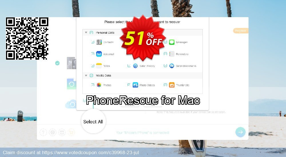 Get 31% OFF PhoneRescue for Mac Coupon