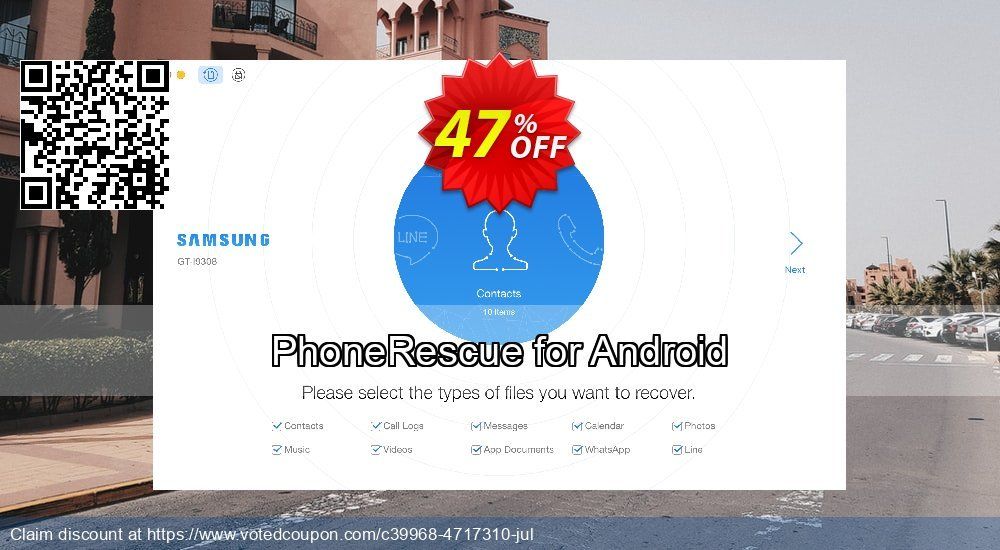 Get 31% OFF PhoneRescue for Android Coupon