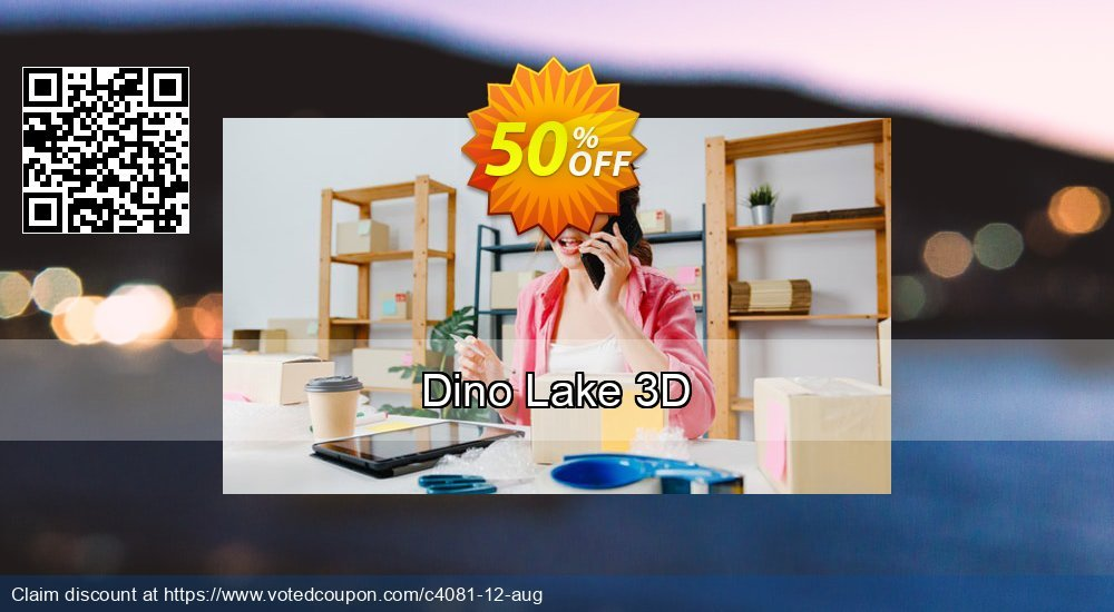 Get 50% OFF Dino Lake 3D offering sales
