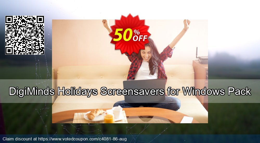 Get 50% OFF DigiMinds Holidays Screensavers for Windows Pack offering sales