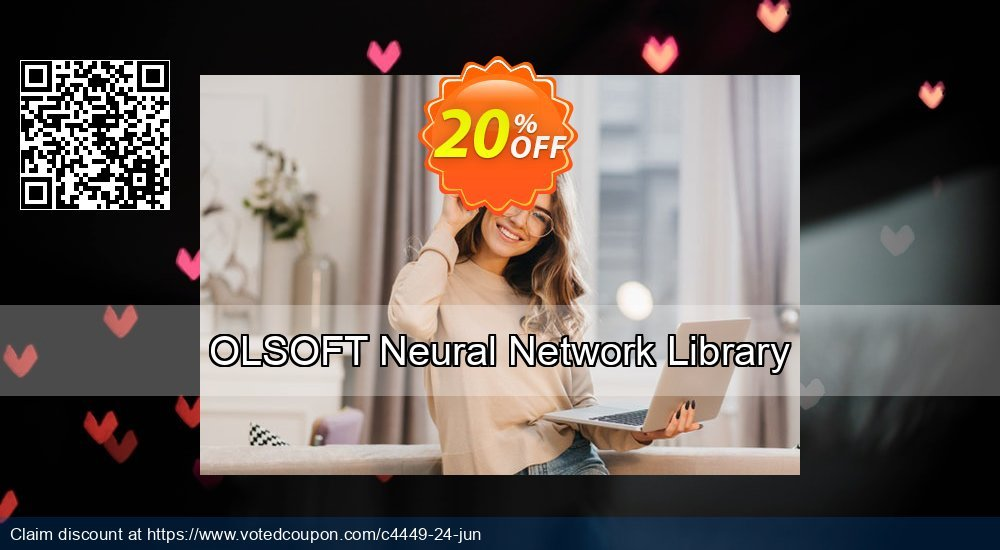 Get 20% OFF OLSOFT Neural Network Library offering discount