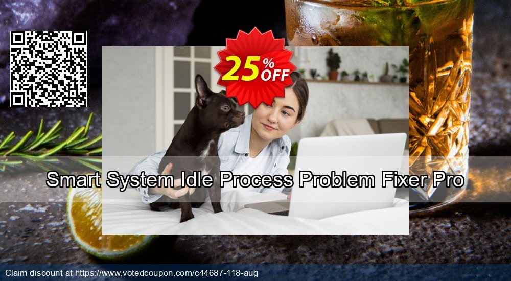 Get 25% OFF Smart System Idle Process Problem Fixer Pro offering sales