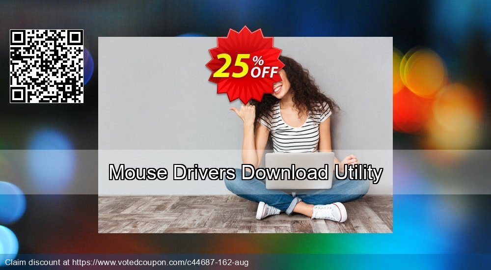 Get 25% OFF Mouse Drivers Download Utility offering discount