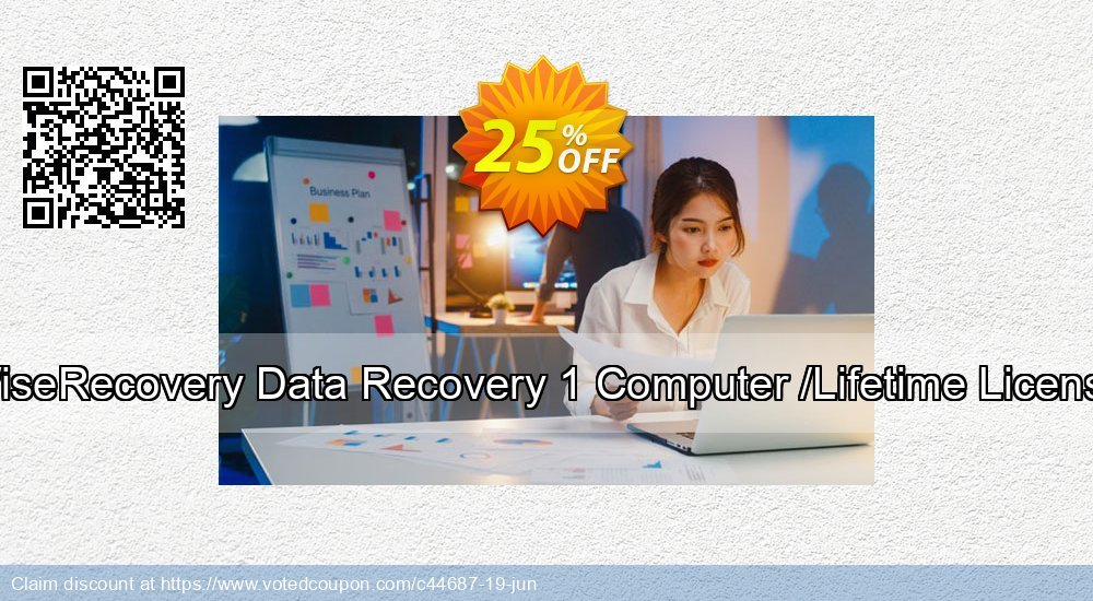 Get 25% OFF WiseRecovery Data Recovery 1 Computer /Lifetime License deals