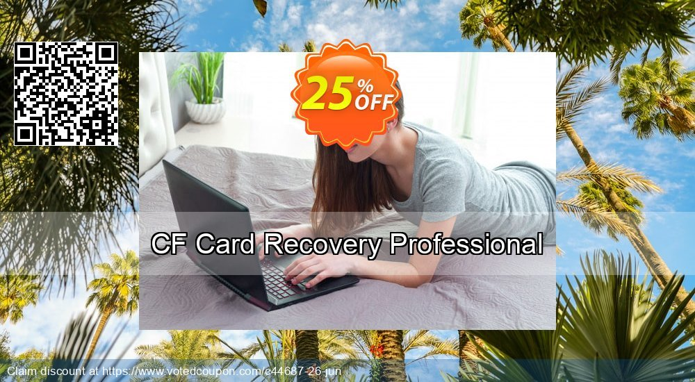 Get 25% OFF CF Card Recovery Professional promo sales