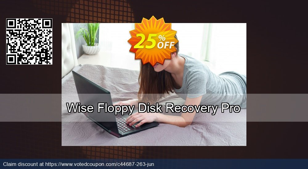 Get 25% OFF Wise Floppy Disk Recovery Pro promo sales