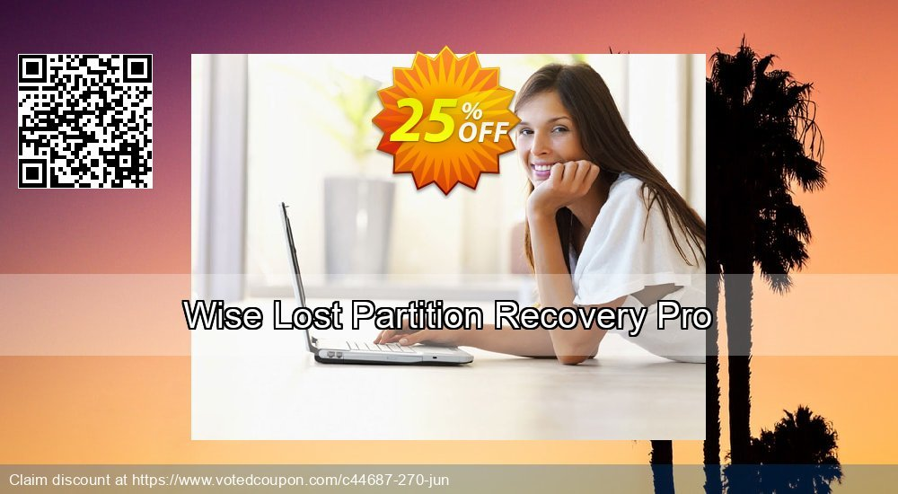 Get 25% OFF Wise Lost Partition Recovery Pro offering sales