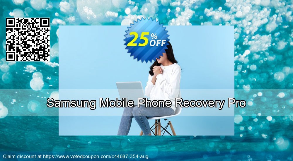 Get 25% OFF Samsung Mobile Phone Recovery Pro Coupon