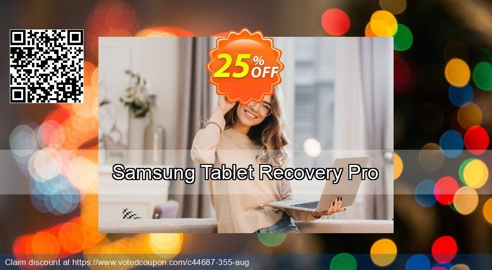 Get 25% OFF Samsung Tablet Recovery Pro Coupon