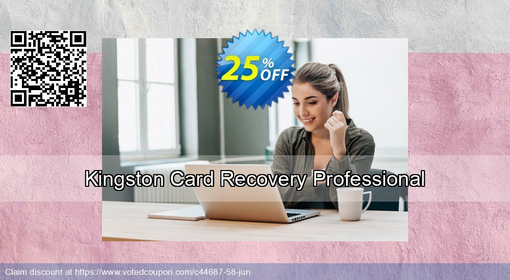 Get 25% OFF Kingston Card Recovery Professional promotions