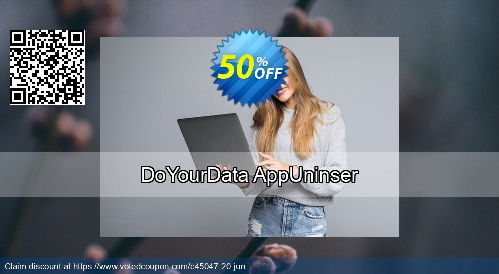 Get 50% OFF DoYourData MacUninstaller offering sales