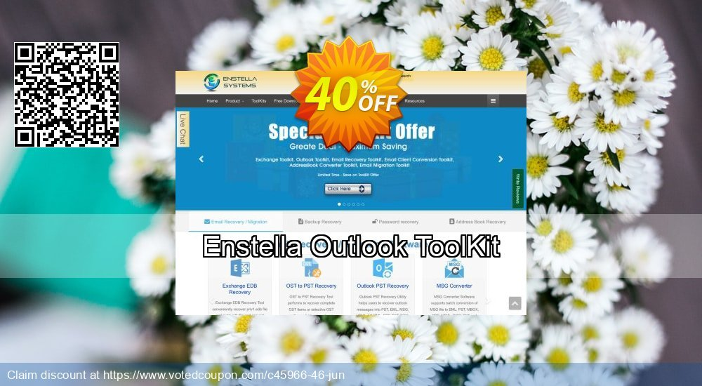 Get 40% OFF Enstella Outlook ToolKit Coupon