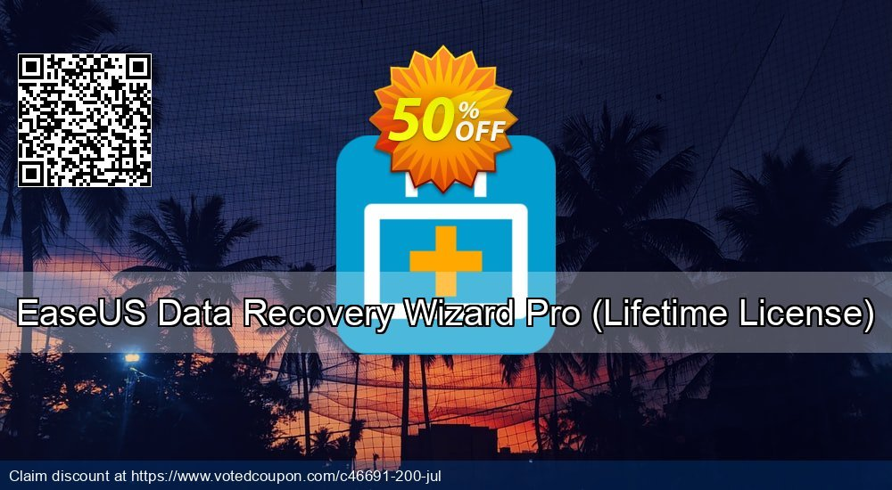 Get 60% OFF EaseUS Data Recovery Wizard Pro, Lifetime License Coupon