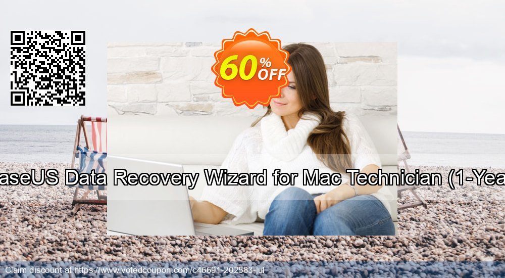 Get 50% OFF EaseUS Data Recovery Wizard for Mac Technician, 1-Year Coupon