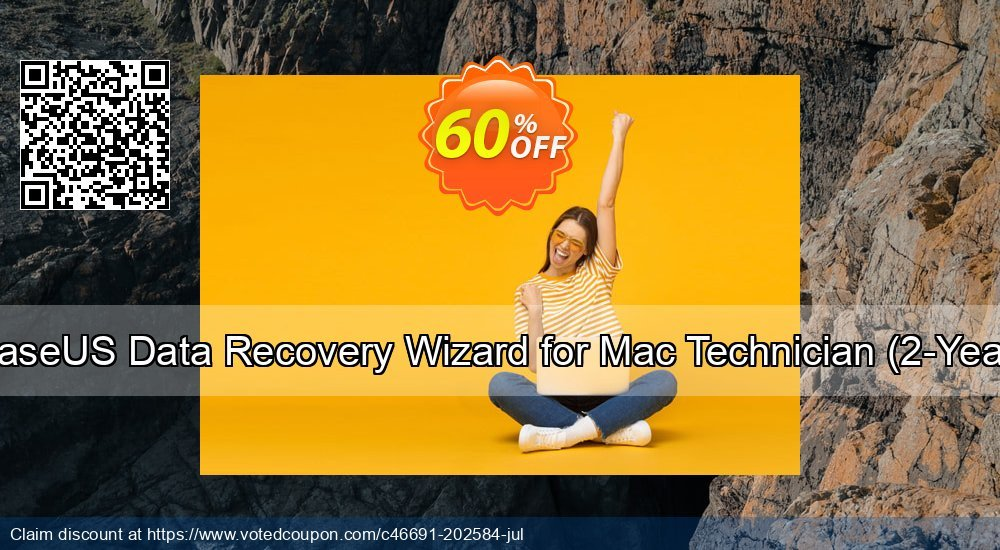 Get 50% OFF EaseUS Data Recovery Wizard for Mac Technician, 2-Year Coupon