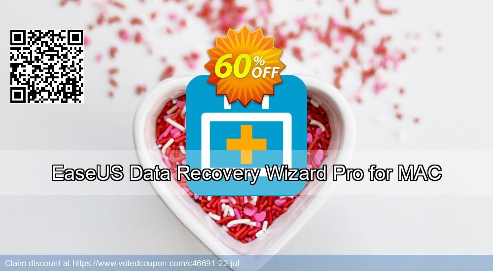 Get 60% OFF EaseUS Data Recovery Wizard Pro for MAC Coupon