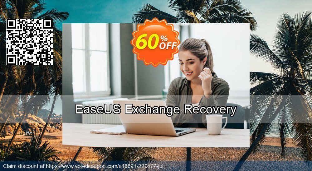 Get 40% OFF EaseUS Exchange Recovery Coupon