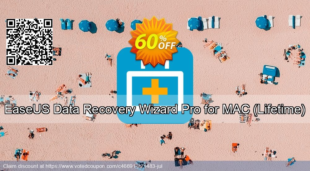 Get 60% OFF EaseUS Data Recovery Wizard Pro for MAC, Lifetime Coupon