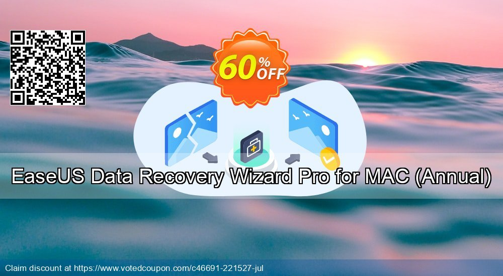 Get 50% OFF EaseUS Data Recovery Wizard Pro for MAC, Annual Coupon