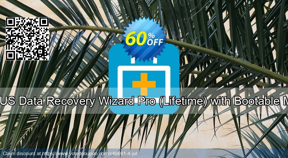 Get 40% OFF EaseUS Data Recovery Wizard Pro, Lifetime with Bootable Media Coupon
