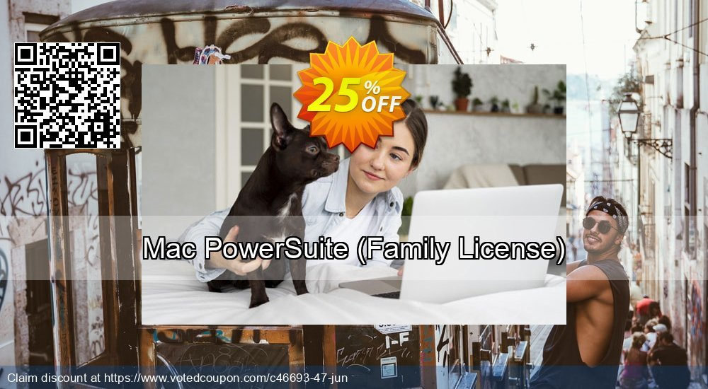 Get 25% OFF Power Suite for Mac (Family License) offering deals