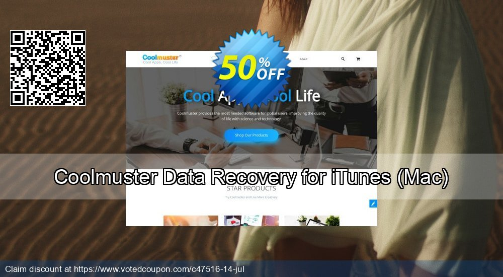 Get 51% OFF Coolmuster Data Recovery for iTunes, Mac Coupon