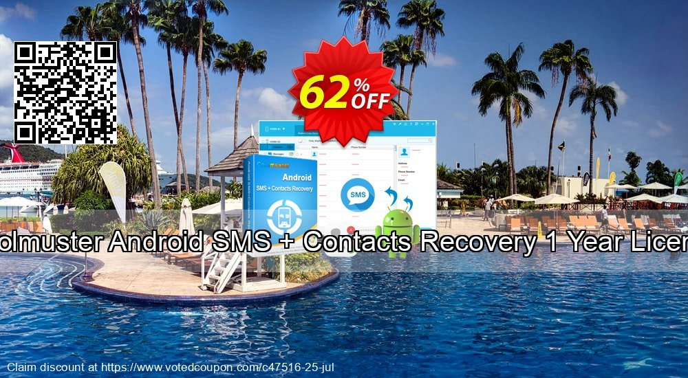 Get 52% OFF Coolmuster Android SMS + Contacts Recovery Coupon
