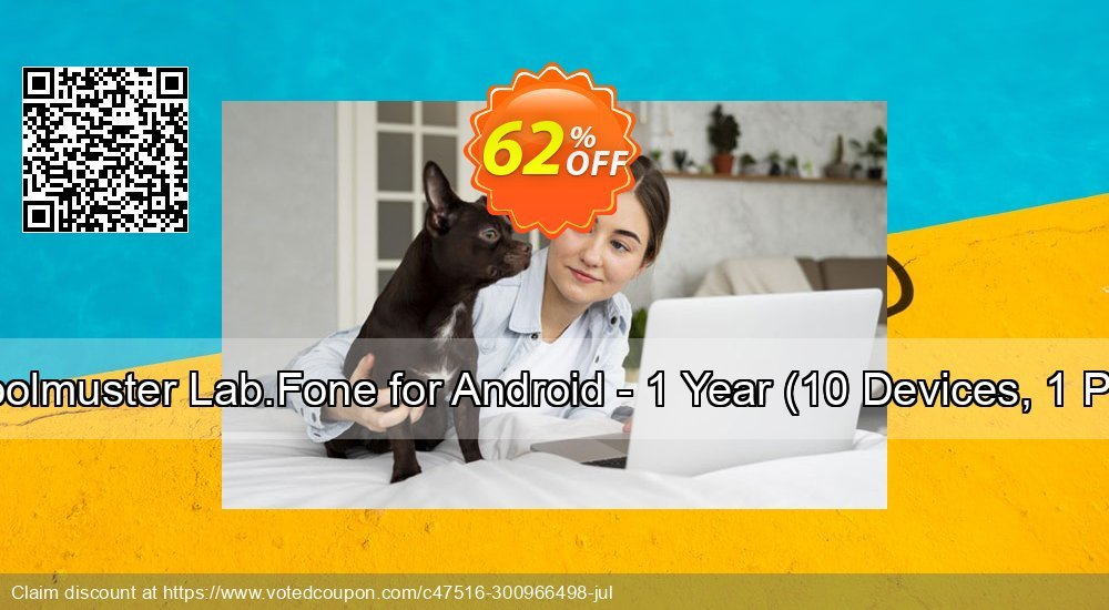 Get 63% OFF Coolmuster Lab.Fone for Android - 1 Year, 10 Devices, 1 PC Coupon