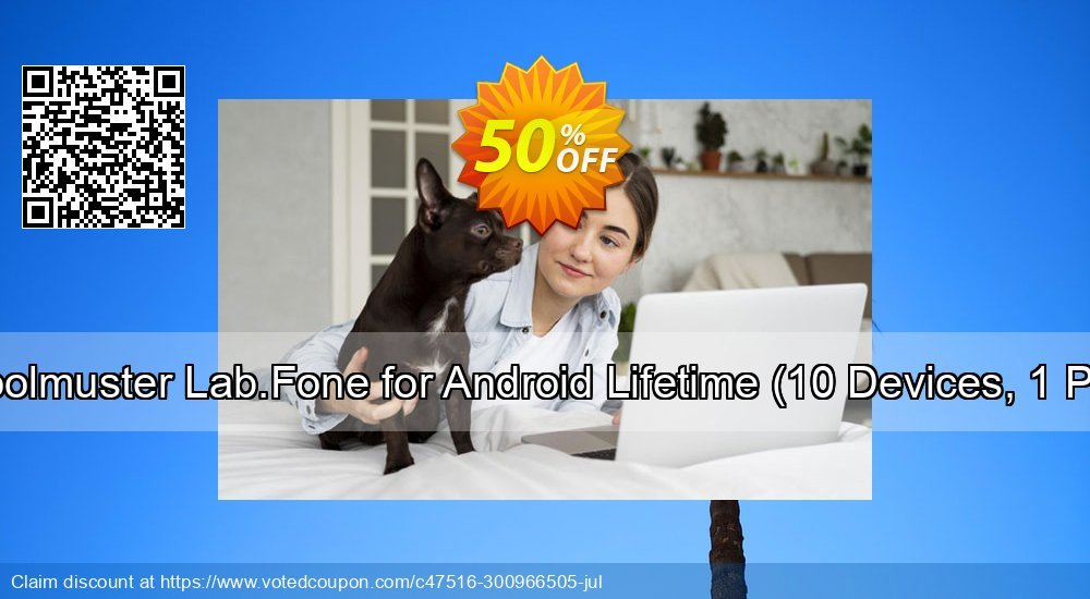 Get 50% OFF Coolmuster Lab.Fone for Android Lifetime, 10 Devices, 1 PC Coupon