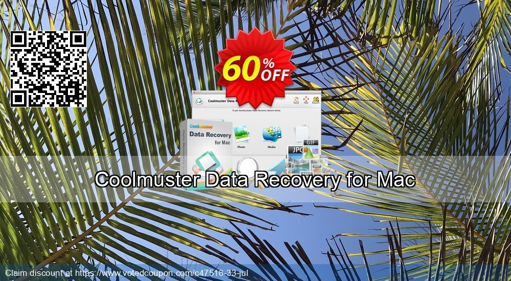 Get 50% OFF Coolmuster Data Recovery for Mac Coupon
