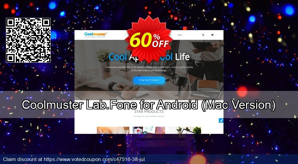 Get 61% OFF Coolmuster Lab.Fone for Android, Mac Version Coupon