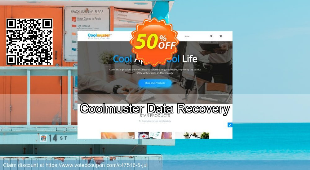 Get 50% OFF Coolmuster Data Recovery Coupon