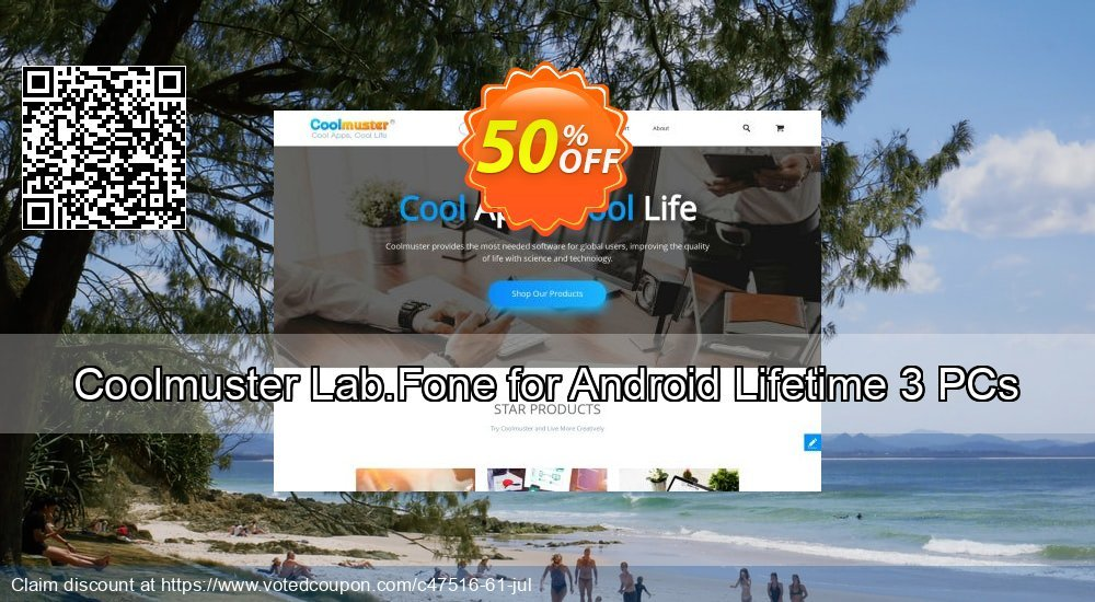 Get 51% OFF Coolmuster Lab.Fone for Android Lifetime 3 PCs Coupon