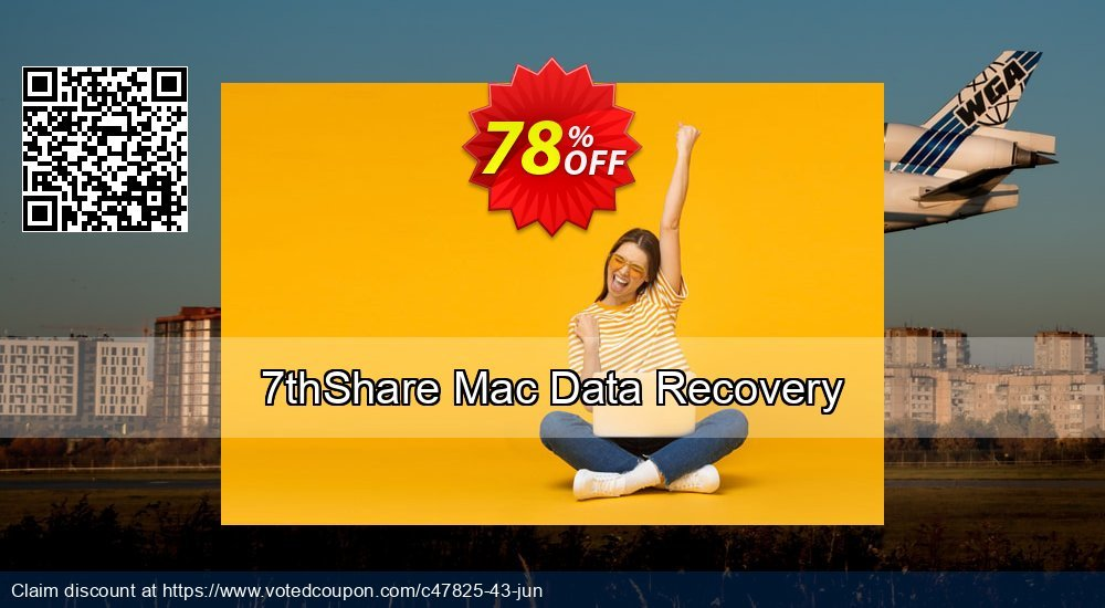 Get 50% OFF 7thShare Mac Data Recovery Coupon