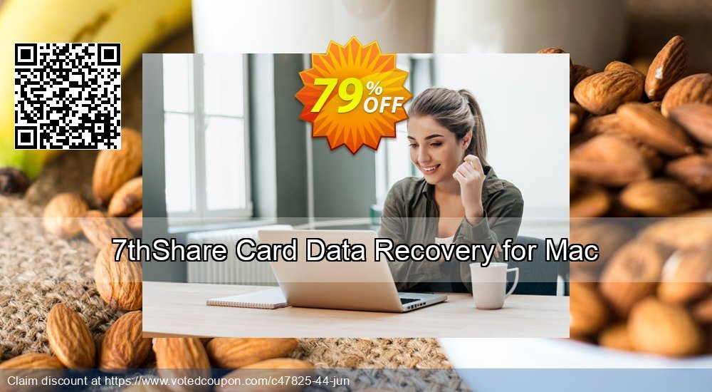 Get 50% OFF 7thShare Card Data Recovery for Mac Coupon
